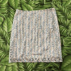 Stitch Fix Renee C. Lace Bodycon Mini Skirt